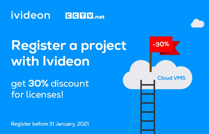 Ivideon and CCTV.net Special Offer