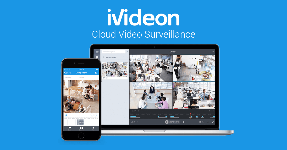 Cloud Video Surveillance | Ivideon