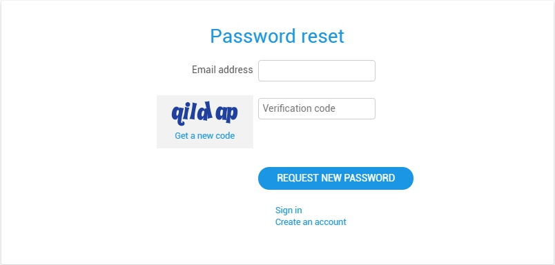 How to change or recover the account password? | Ivideon