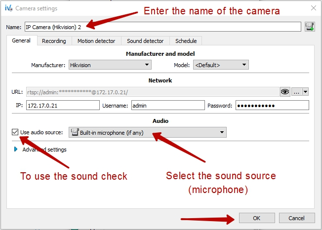 How to connect a web camera to Ivideon Server? | Ivideon